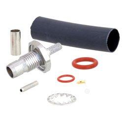 BMA Plug Bulkhead Slide-On Connector Crimp/Solder Attachment For RG178, RG196 Cable