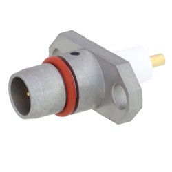 BMA Plug Slide-On Connector Stub Terminal Solder Attachment 2 Hole Flange , .481 inch Hole Spacing Rated to 22GHz