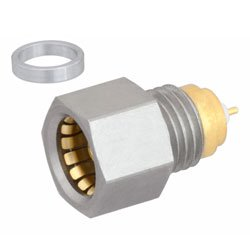 BMA Jack Hermetically Sealed Connector Stub Terminal Solder Attachment