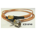MMCX Female to SMA Male Cables