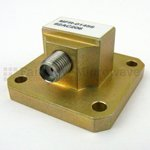 WR-62 Waveguide to Coaxial Adapters
