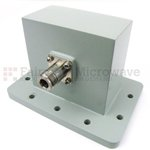 WR-340 Waveguide to Coaxial Adapters