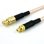 MMCX Plug to MCX Plug Cables