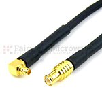RA MMCX Male to MCX Male Cables