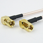 RA SMB Plug to RA SMC Plug Cables