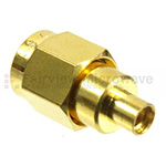 MMCX Jack to SMA Male Adapters