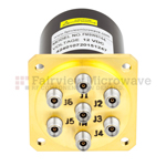 Low Power SP6T Electromechanical Relay Switches (<10 Watts)