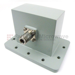 WR-340 to N Waveguide to Coaxial Adapters