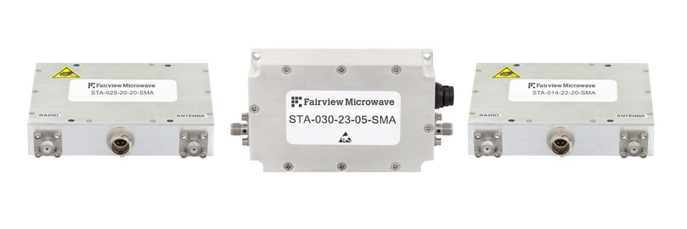Fairview Microwave Releases Family of Coaxial Packaged Bi-Directional Amplifiers