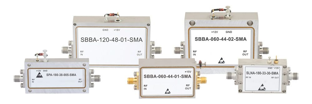 Broadband Amplifiers with Operation from 0.5 to 40 GHz Released by Fairview Microwave