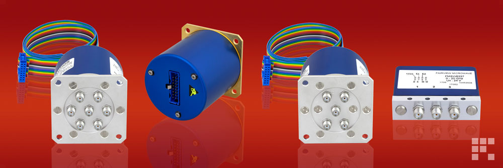 Low Insertion Loss Repeatability Electromechanical Switches from Fairview Microwave