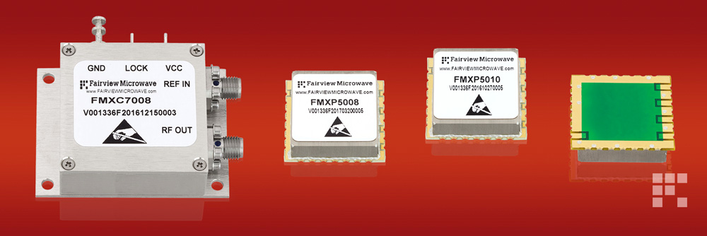 New Phase Locked Oscillators from Fairview Microwave