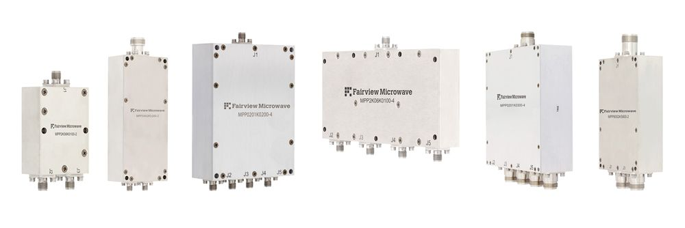 2-Way and 4-Way RF Power Combiners Up to 6 GHz from Fairview
