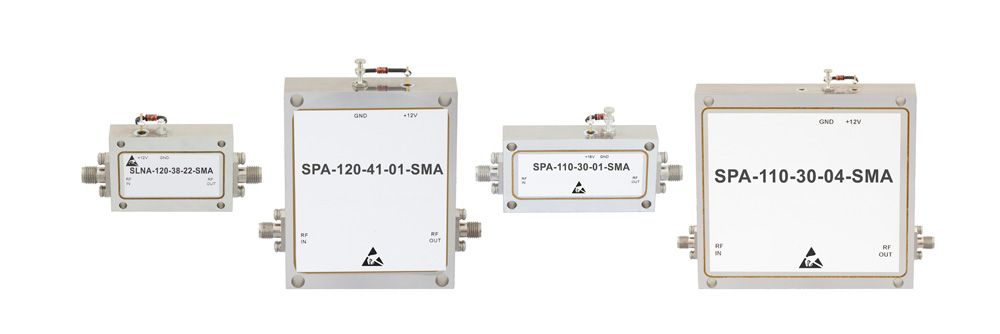 New X-Band GaAs PHEMT MMIC Based LNA and High Power Coaxial Amplifiers Released by Fairview Microwave