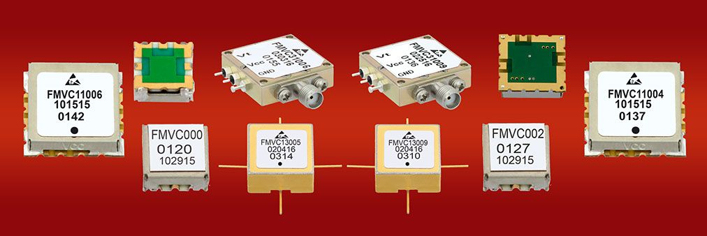 Voltage Controlled Oscillators (VCOs) from Fairview Microwave