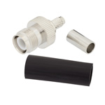 RP TNC Female Connector Crimp/Non-Solder Contact Attachment For LMR-200 Cable