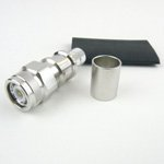 TNC Male Connector Crimp/Non-Solder Contact Attachment For LMR-400 Cable