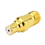 SMA Female to MBMB Jack Adapter with Beryllium Copper Body