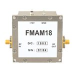 22 dB Gain Block Amplifier Operating From 50 MHz to 2 GHz with 12 dBm P1dB and SMA