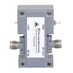 5.5 dB NF, 18 GHz to 40 GHz, Low Noise Broadband Amplifier with 10 dBm, 18 dB Gain and 2.4mm