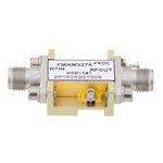 3 dB NF, 17 GHz to 27 GHz, Low Noise Broadband Amplifier with 18 dBm, 19 dB Gain, 24 dBm IP3 and 2.92mm