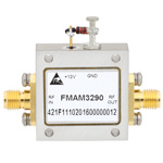 2.5 dB NF, 2 GHz to 8 GHz, Low Noise Broadband Amplifier with 13 dBm, 14 dB Gain and SMA