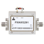 2.5 dB NF, 2 GHz to 8 GHz, Low Noise Broadband Amplifier with 13 dBm, 30 dB Gain and SMA