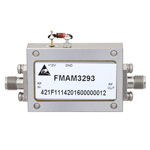 2.5 dB NF, 6 GHz to 12 GHz, Low Noise Broadband Amplifier with 30 dB Gain and SMA