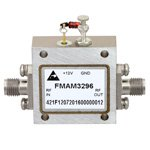 3.5 dB NF, 12 GHz to 18 GHz, Low Noise Broadband Amplifier with 13 dBm, 18 dB Gain and SMA