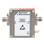 4.5 dB NF, 18 GHz to 40 GHz, Low Noise Broadband Amplifier with 10 dBm, 40 dB Gain and 2.92mm