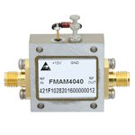 2 GHz to 6 GHz, Medium Power Broadband Amplifier with 23 dBm, 13 dB Gain and SMA