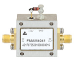 2 GHz to 6 GHz, Medium Power Broadband Amplifier with 500 mW, 22 dB Gain and SMA