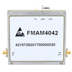2 GHz to 6 GHz, Medium Power Broadband Amplifier with 3 Watt, 36 dB Gain and SMA