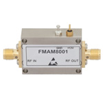 14.5 dB Gain Block Amplifier Operating From 10 MHz to 6 GHz with 14 dBm P1dB and SMA