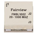 20 MHz to 1,000 MHz Balun at 50 Ohm to 25 Ohm Rated to 100 Watts in a SMT (Surface Mount) Package
