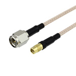 SMA Male to MMCX Jack Cable RG-316 Coax and RoHS Compliant