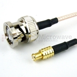 MCX Plug to BNC Male Cable RG-316 Coax