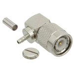 RA TNC Male Connector Crimp/Solder Attachment For RG174, RG316, RG188, LMR-100 Cable