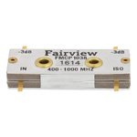Drop-In 90 Degree Hybrid Coupler From 400 MHz to 1,000 MHz Rated To 400 Watts