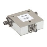 High Power Circulator SMA Female With 20 dB Isolation From 2 GHz to 4 GHz Rated to 50 Watts