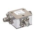 High Power Circulator SMA Female With 18 dB Isolation From 4 GHz to 8 GHz Rated to 50 Watts