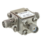 High Power Circulator SMA Female With 16 dB Isolation From 8 GHz to 18 GHz Rated to 50 Watts