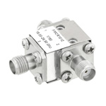 High Power Circulator SMA Female With 17 dB Isolation From 18 GHz to 26.5 GHz Rated to 50 Watts