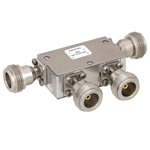 Dual Junction Circulator N Female With 40 dB Isolation From 7 GHz to 12.4 GHz Rated to 5 Watts
