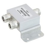 2 Way Power Divider N Connectors To 2.7 GHz Rated at 30 Watts