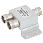 2 Way Power Divider 4.1/9.5 Mini DIN Connectors To 2.7 GHz Rated at 30 Watts
