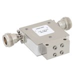 High Power Isolator N Female With 20 dB Isolation From 2 GHz to 4 GHz Rated to 50 Watts