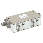 Dual Junction Isolator SMA Female With 36 dB Isolation From 4 GHz to 8 GHz Rated to 10 Watts