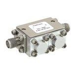 Dual Junction Isolator SMA Female With 32 dB Isolation From 8 GHz to 18 GHz Rated to 5 Watts