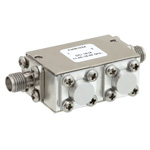 Dual Junction Isolator SMA Female With 40 dB Isolation From 11 GHz to 18 GHz Rated to 5 Watts